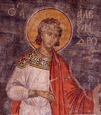 Märtyrer Alexander von Rom
