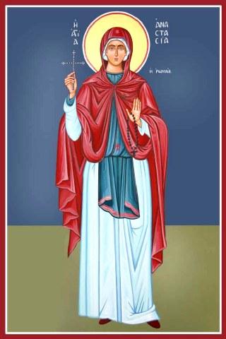 Heilige Anastasia von Rom