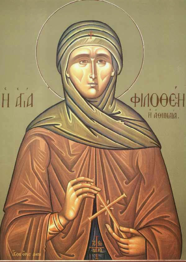 Heilige Philothea aus Athen